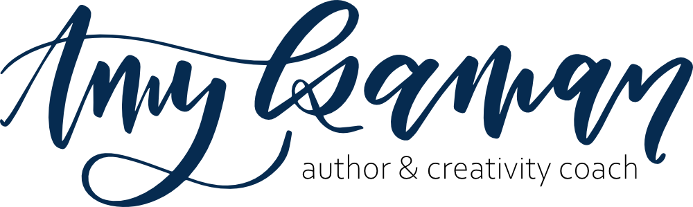 amyisaman author creativity coach logo