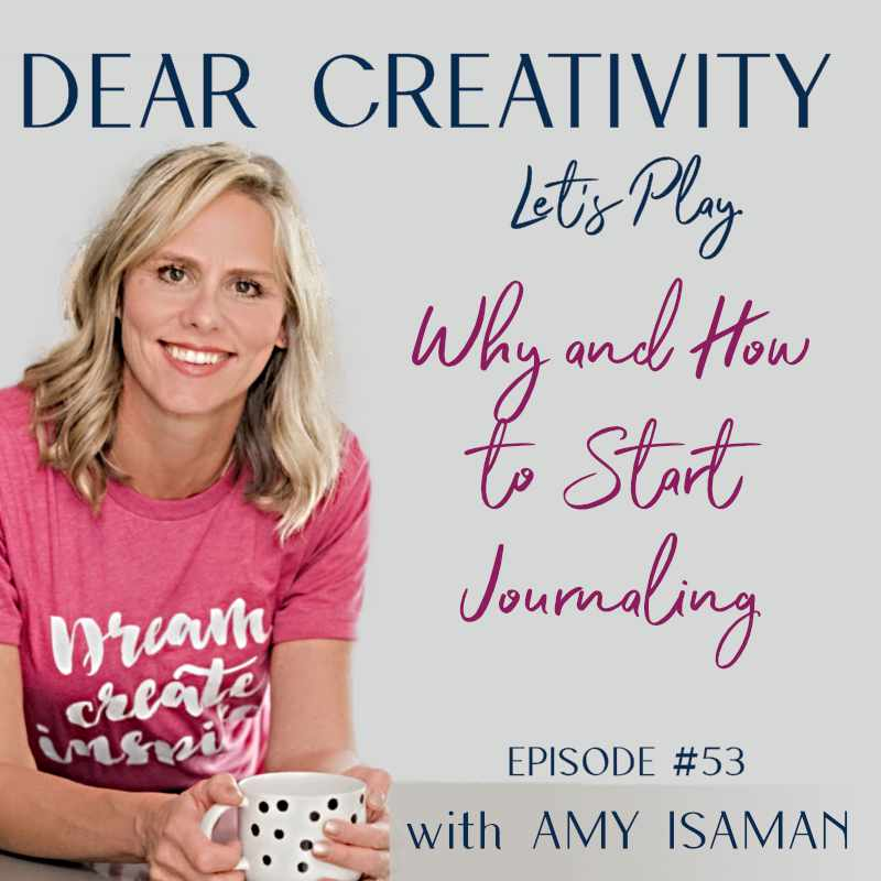 how to start journaling episode graphic